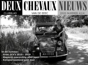 Deux Chevaux Nieuws voorpagina