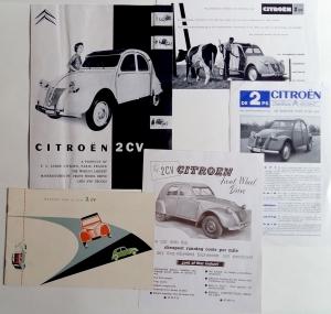 Verzameling folders verschillende landen