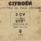 Onderdelenboek 2CV-250k 1949-1952